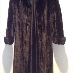 Jackets & Blazers - Authentic mink long coat